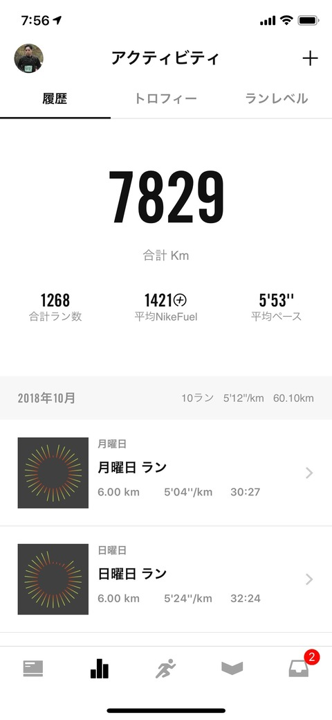 Nike Run Club October 2018