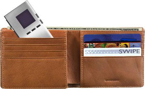 財布に収納slimscan