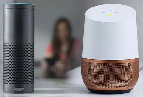 Amazon Alexa と Google Home