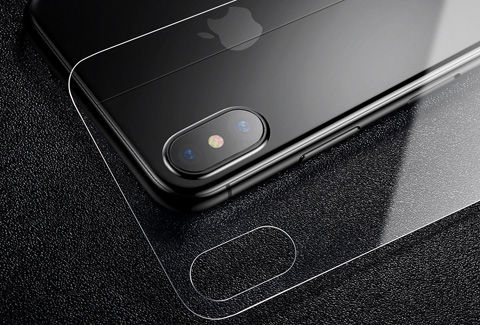 iPhoneX前後面ガラスフィルム