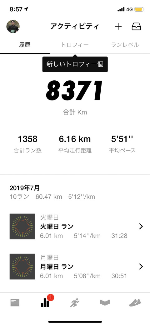 Nike Run Club July 2019