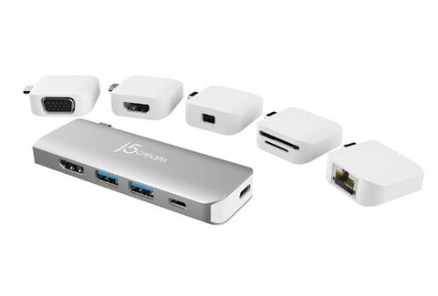 JCD389 USB-C Modular Mini Dock 11in1