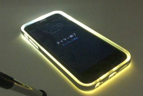 iPhone 6s:6sPlus ケース 着信時LEDフラッシュ機能付