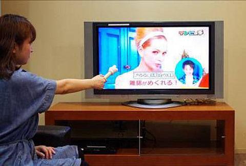 テレビの手