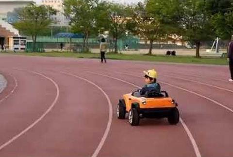 子ども自身が運転することもできる