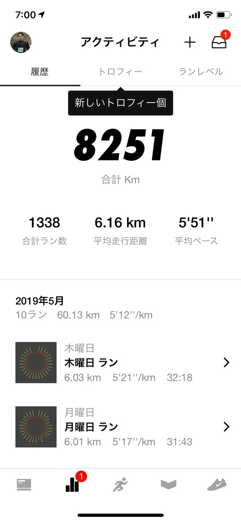 Nike Run Club May 2019
