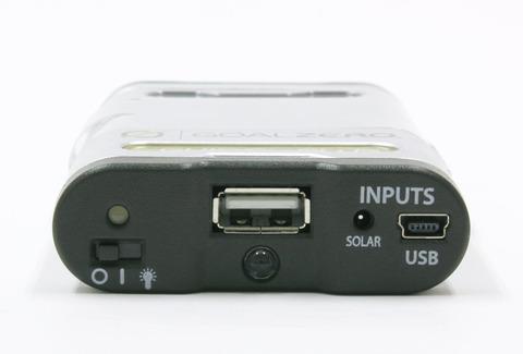 USB出力より5V1Aの電源供給するポータブル充電器Guide 10 plus