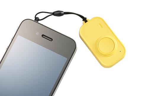 iPhone4S専用カメラリモコン「LBT-MPCMR01」