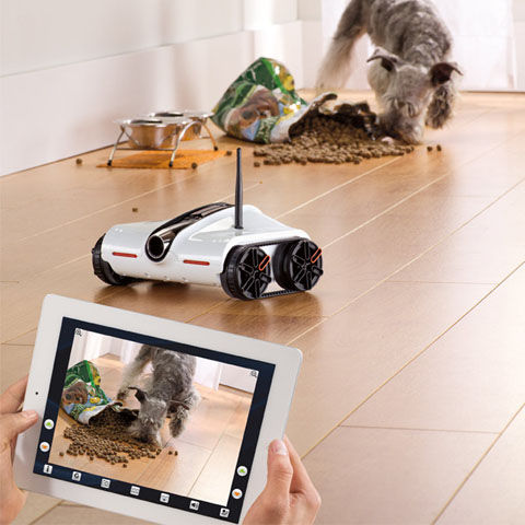 iPadでコントロール Rover App-Controlled Spy Tank