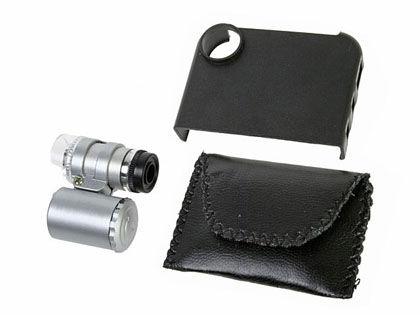 iPhone4顕微鏡セット
