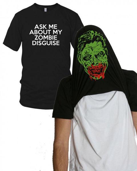 ゾンビに変身するTシャツ
