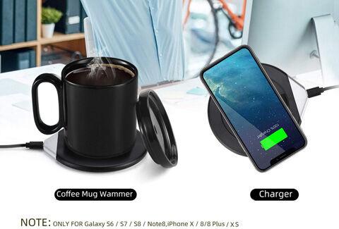 Mug Warmer & Wireless Charger