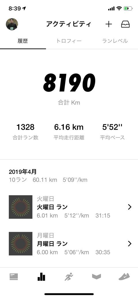 Nike Run Club April 2019