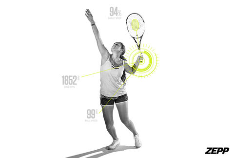 Zepp Tennis 2 Swing Analyser