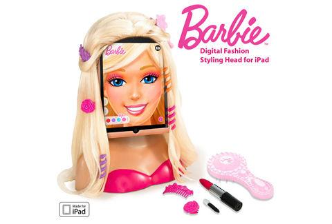 バービー™デジタルファッションスタイリングヘッド for iPad
