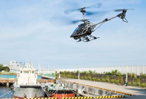ジャイロセンサーで安定飛行