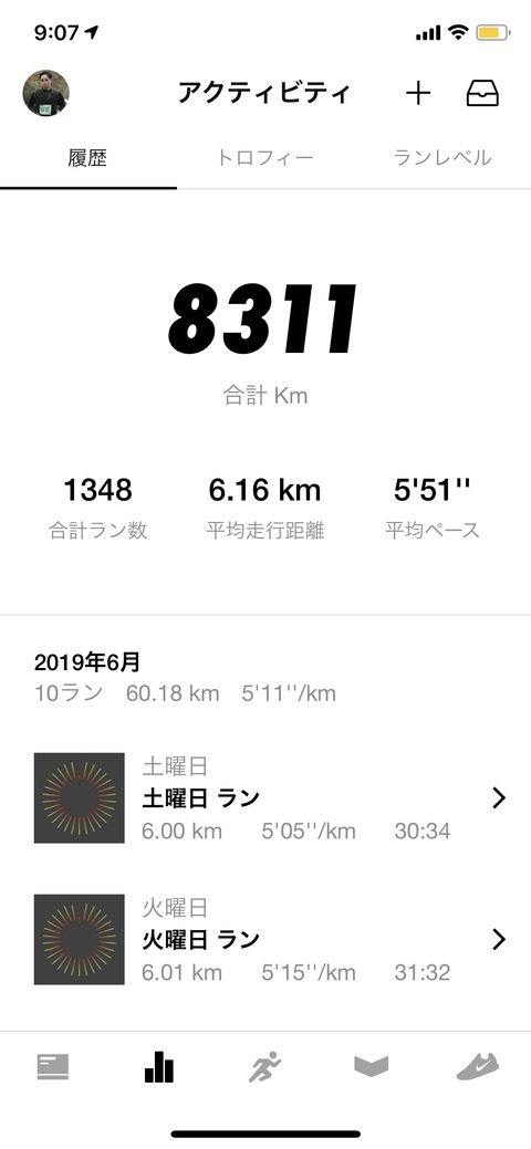 Nike Run Club Jun 2019