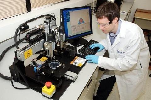 3Dプリントおよび多光子重合による人工血管