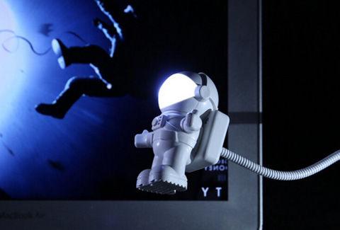 USB LEDライト照明 宇宙飛行士