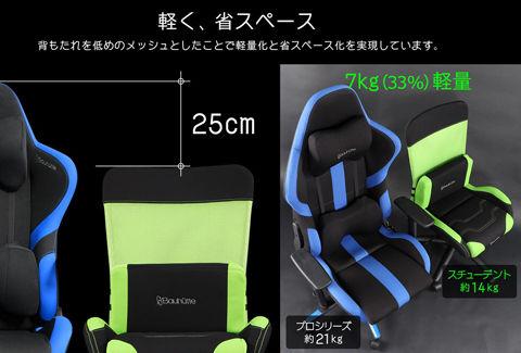 日本人向け低座面設計 RS-200-GN