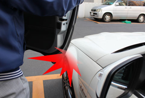 ドアパンチ対策防犯ビデオカメラ