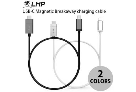LMP USB-C Magnetic Breakaway charging cable