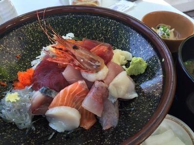島童子 江の島 特選海鮮丼