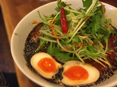 天鳳 方南町 黒ごま担々麺