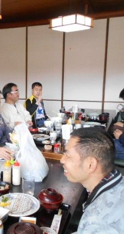 3.11ごちそうを食べて満面の笑み!(^^)!