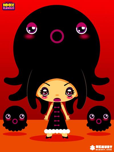A Octopus Girl in the Nemuryland オクトパスガール ネムリーランド