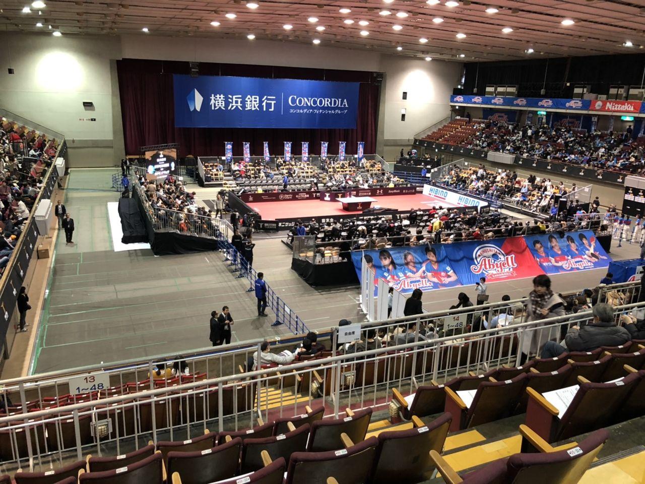 横浜 文化 体育館