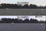 制動距離の違い