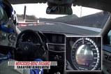 E63 AMG すごいスケールのメーターです・・