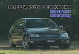 アルテッツアRS200Zエディション6MT