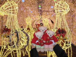 テディベアたちのクリスマス43