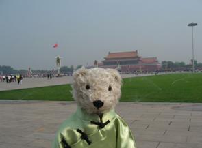 テディベア中国の旅8
