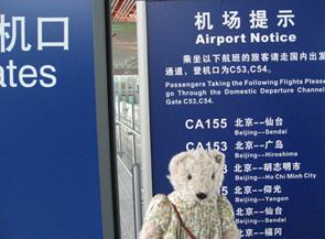テディベア中国の旅11