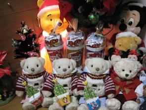 テディベアたちのクリスマス41