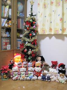 テディベアたちのクリスマス42