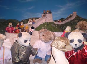 テディベア中国の旅