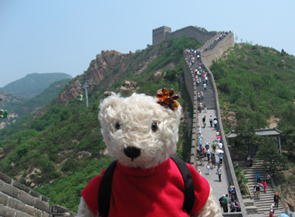 テディベア中国の旅1
