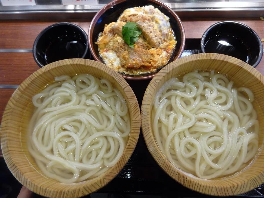 171102丸亀製麺釜揚げカツ丼
