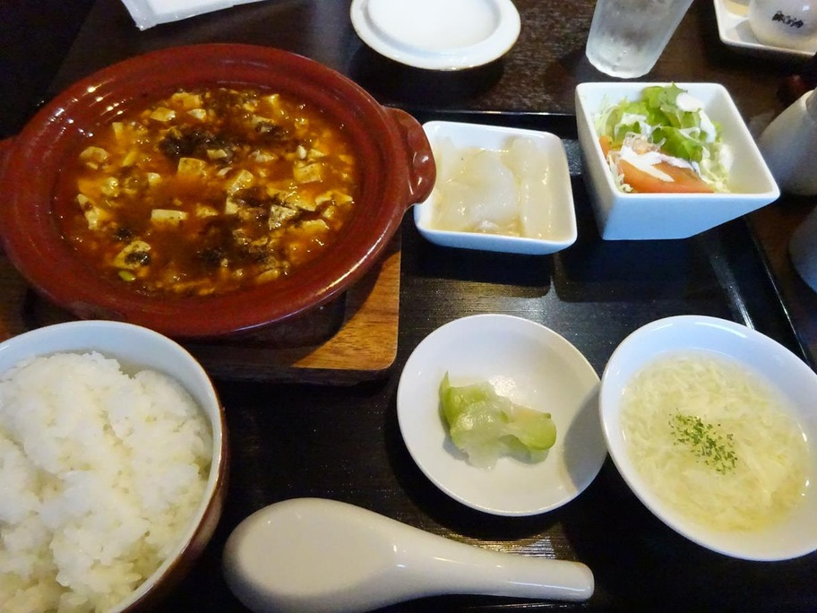 170911エッセンス麻婆豆腐定食