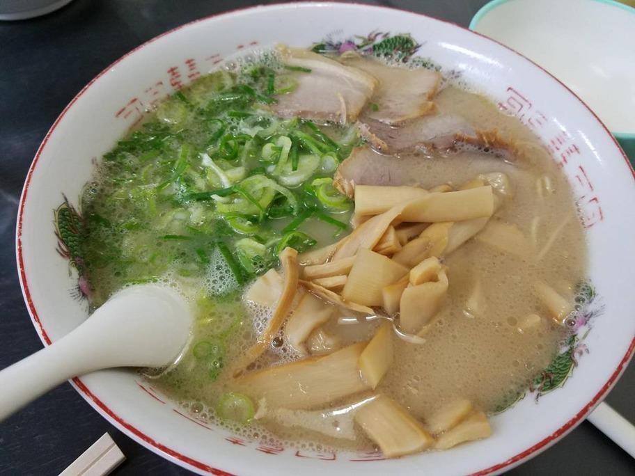 171022福重家メンマ拉麺