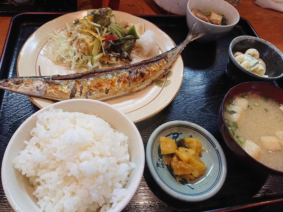 20180903焼き魚定食