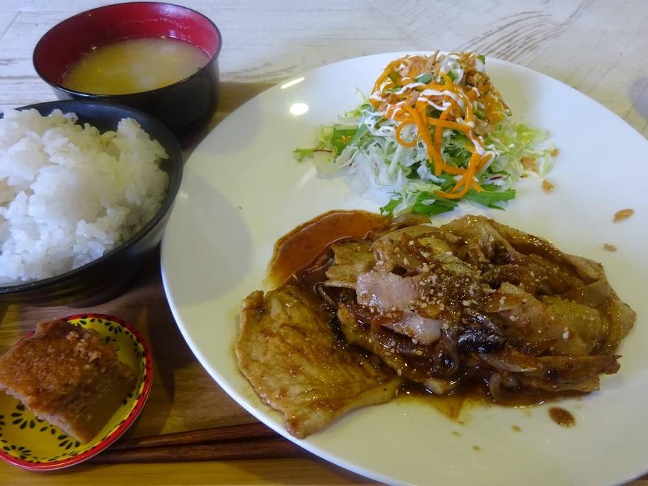 20190616ロン高山豚の生姜焼き