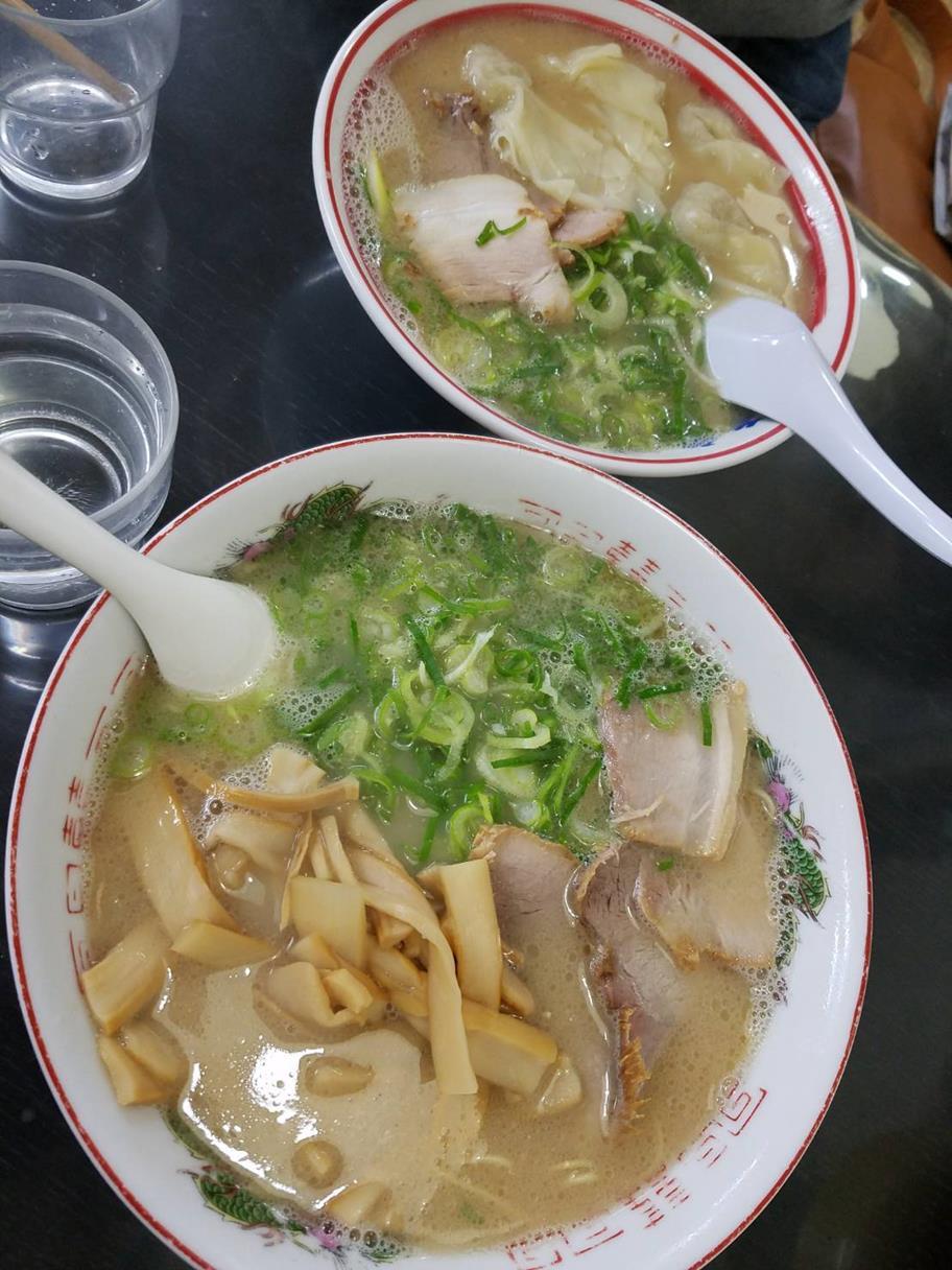 171022福重家ワンタン拉麺