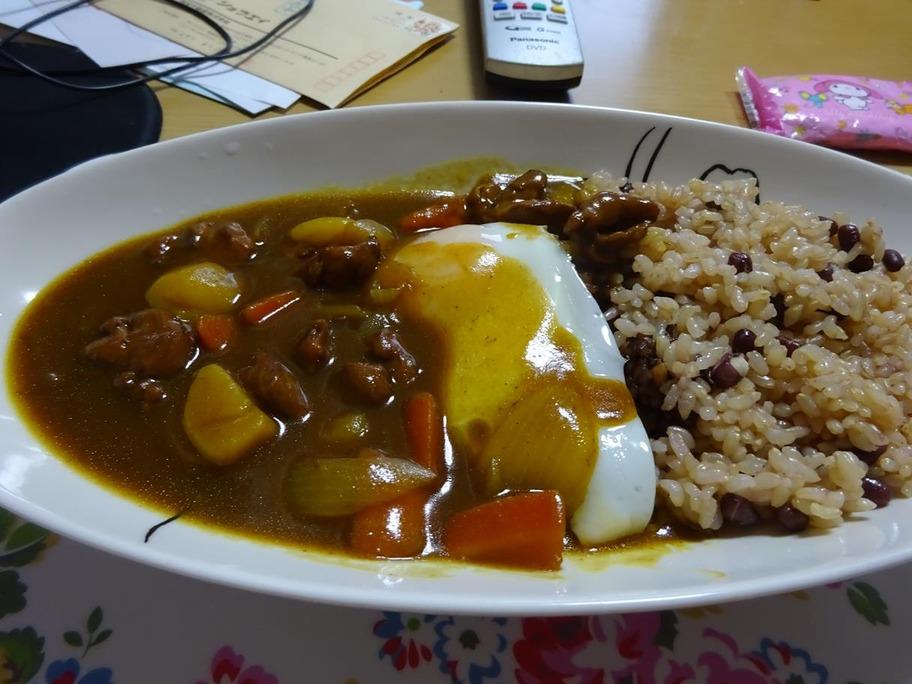 小豆カレー
