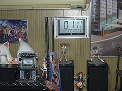 電波時計を部屋の壁に固定