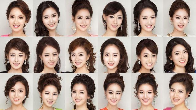 【芸能】韓国のミスコン、候補者の顔がみんな同じだと話題に (画像あり)